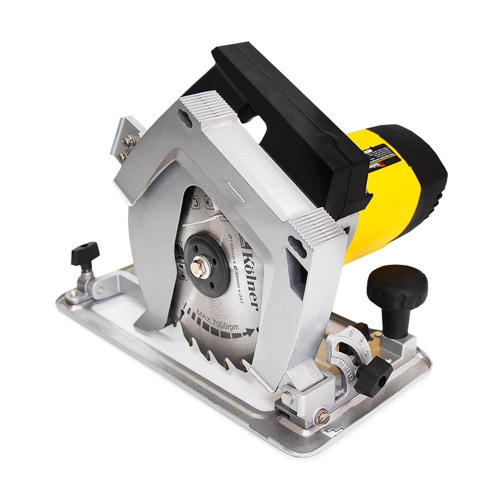 Circular saw Kolner KCS 190/1900T 5pcs hole saw tooth hss hole saw cutter drill bit set 16 18 5 20 25 30mm