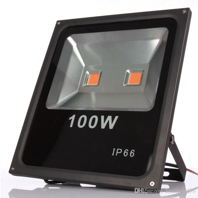 100w Led Floodlight Waterproof Ip65 Led Grow Light Full