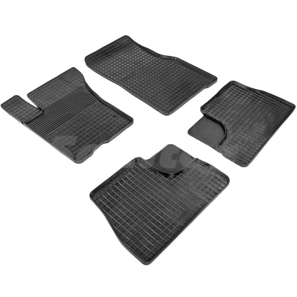 купить Rubber grid floor mats for Mercedes-Benz ML W163 1998 1999 2000 2001 2002 2003 2004 2005 Seintex 00902 онлайн