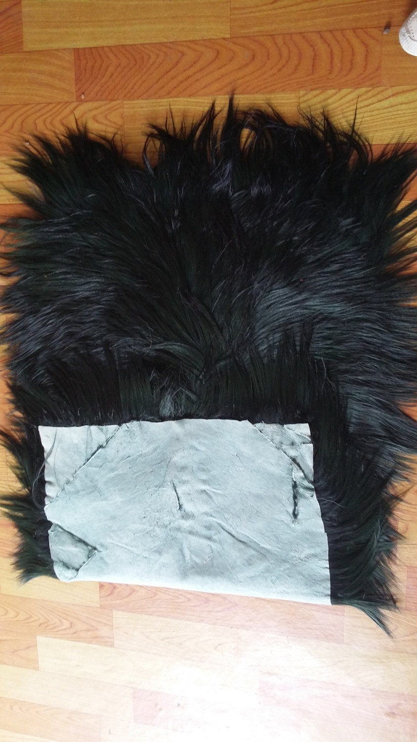 Tibetan Lamb Rug Mongolian Lamb Skins / Black Goat Fur - Arts, Crafts and Sewing - Photo 2