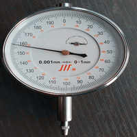 Micrometer Dial Indicator Gauge 0-1 mm / 0.001 mm precision instrument tools used to measure shaft runout &thrust, gear backlash