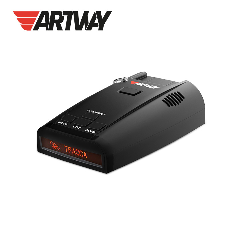 Artway RD-301 GPS Radar Detector VCO with built-in GPS module  LED LCD display and System SLC Ship from Russia