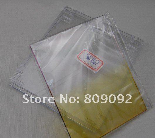 Желтый постепенное Цвет объектив фильтр для Cokin серии P