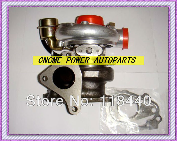 Turbo TD06-20G Turbocharger for Subaru WRX STI EJ20 EJ25 2.0L MAX HP 450HP Water cooled With gaskets (4)