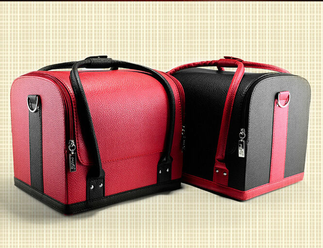 2017 Zipper Trunk Organizador Cosmetic Bags Makeup Case Organizer Large Capacity And Professional Bag Hanging Travel Promotion In Cases From