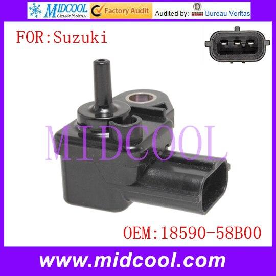 Nouveau capteur de pression du collecteur d'admission capteur de carte utiliser OE No. 18590-58B00 pour Suzuki