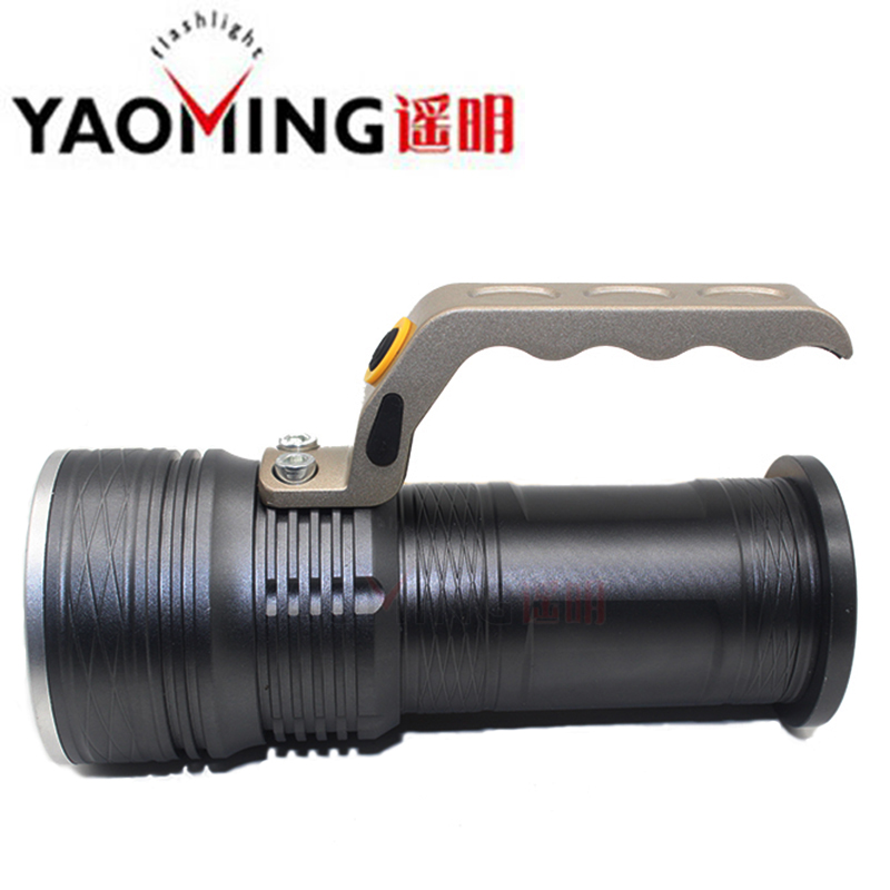 Handlamp CREE XM-L Q5 Handle flashlight high power rechargeable led flashlight lamp light waterproof  torch lanterna with 18650 cree rechargeable flashlight led torch xm l t6 waterproof 5 mode lanterna flash light lamp battery 18650 with charger