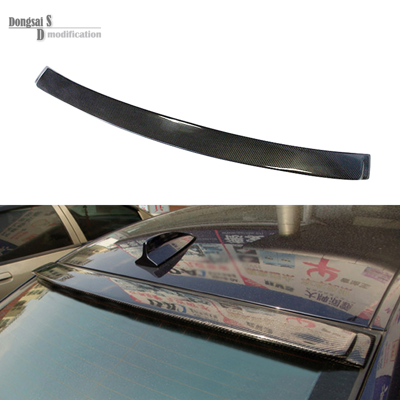 E92 AC Style rear trunk spoiler Carbon Fiber Aerodynamics Car Wing for BMW 3 Series E92 2005 - 2011 316i 318i 320i