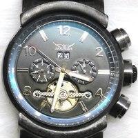 бесплатная доставка продажа мода мужские часы многофункциональный часы автоматическая Turbo механик