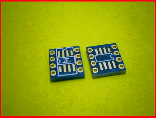 Free Shipping!!! Electronic 10pcs Adapter Plate Single Op Amp Dual Op Amp Turn AD797 / OPA627 SMD DIP Switch Pcb