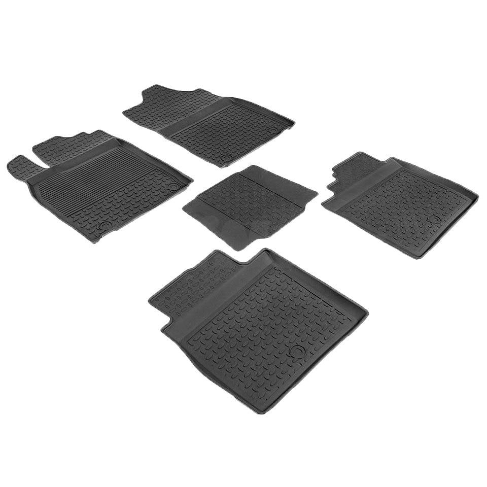 Rubber floor mats for Lexus ES VI 2012 2013 2014 2015 2016 2017 2018 Seintex 86499 все цены