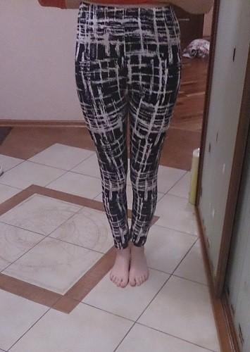 TOIVOTUKSIA Women Leggings Pantalones Black Milk Print Leggings Summer Style Soft Skin Material Nine Women Leggins 3