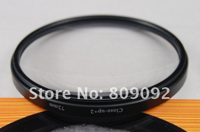 GODOX 72 мм Макро крупным планом+ 2 фильтра объектива для цифровой камеры