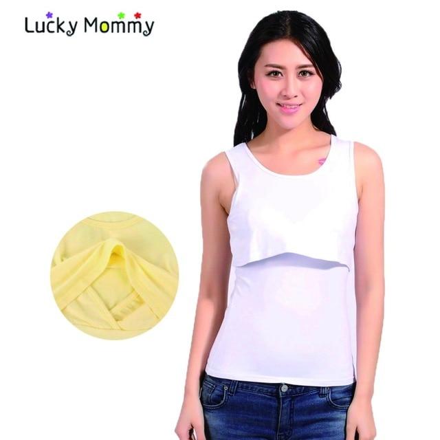 Грудное вскармливание жилет престарелых топы Matwrnity одежда для беременных лето беременность футболки хлопка рукавов одежды