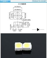 из светодиодов smd3528 Сид 0.06 вт 7-8 лм 2500-2700mcd источник света Р / Г / Б / ж / жв / розовый