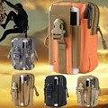 Para huawei p8 p9 lite/oneplus 3 t 3/meizu m3 note pro 6 além de M3s Mini Phone Case Capa Carteira Coque Acessório Tático Militar