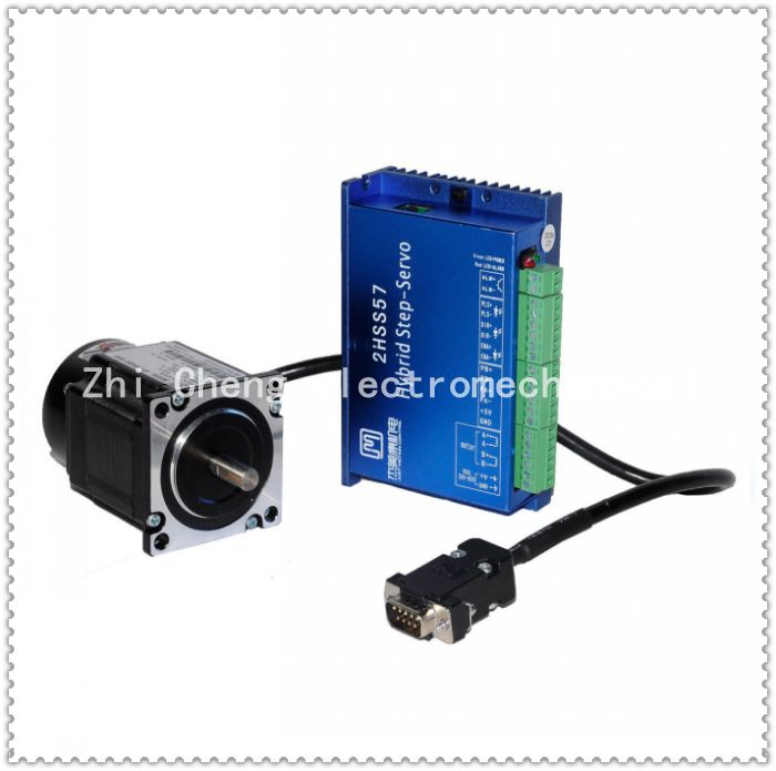 57J1880EC-1000+2HSS57 Closed-loop step combined packages 2.2N.m Nema 23 Hybird closed loop 2-phase stepper motor driver closed loop stepper motor 57j1854ec 1000 2hss57 driver 0 9n m nema 23 hybrid 2 phase step motor with 3m encoder cable