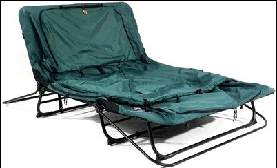 Kamp Rite Original Camping Tent Cot Green With Rainfly In Tents