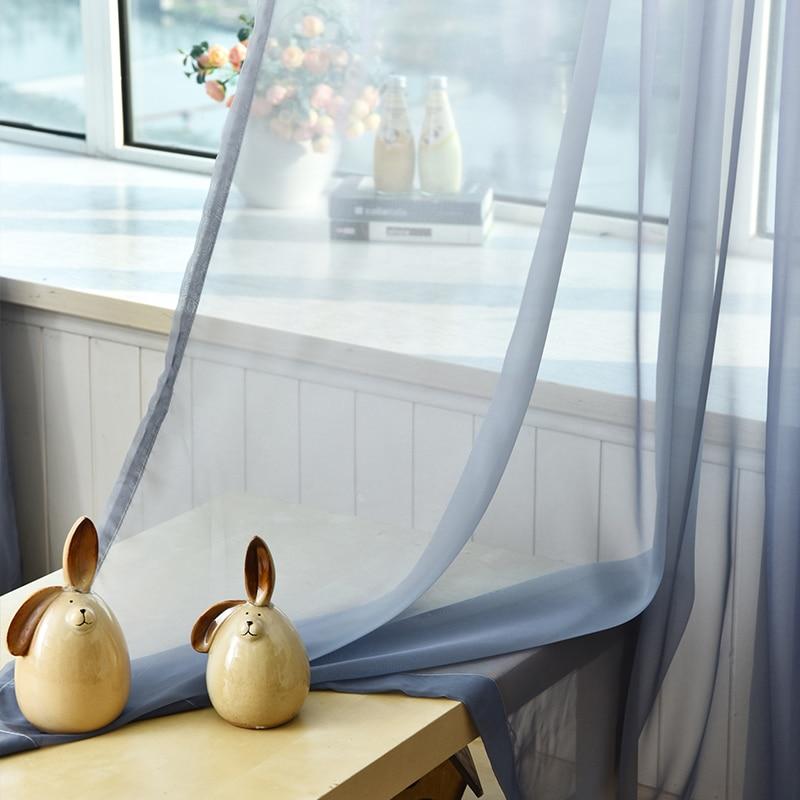 Tüll Vorhänge 3d Gedruckt Küche Dekorationen Fensterbehandlungen - Haustextilien - Foto 6