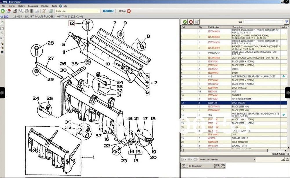 UT8K0SGXatdXXagOFbX2 aliexpress com buy kobelco spare parts catalog kobelco epc from  at creativeand.co