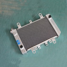 ATV parts accessories aluminum alloy radiator ATV quad For Kawasaki Prairie 400 KVF400 1997-2002