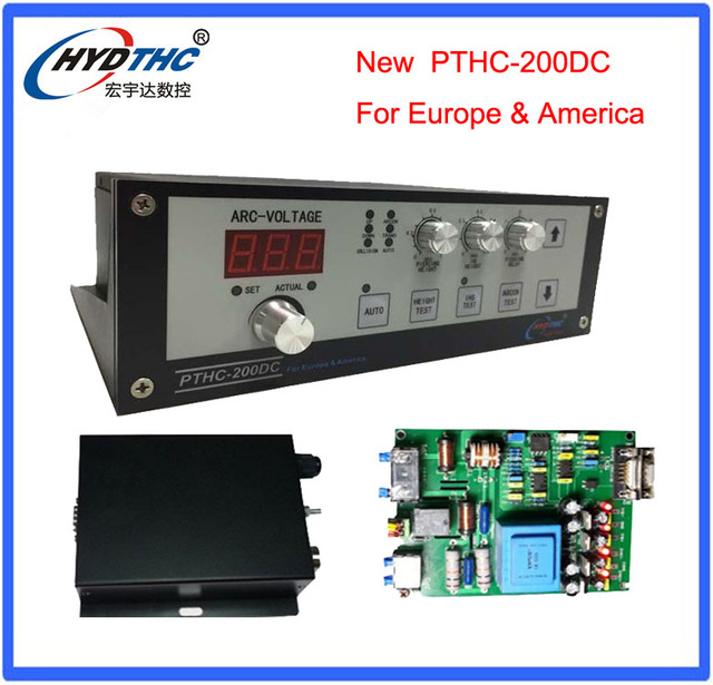 Plasma arc torch height controller plasma sensor for cnc plasma cutting machine PTHC-200DC