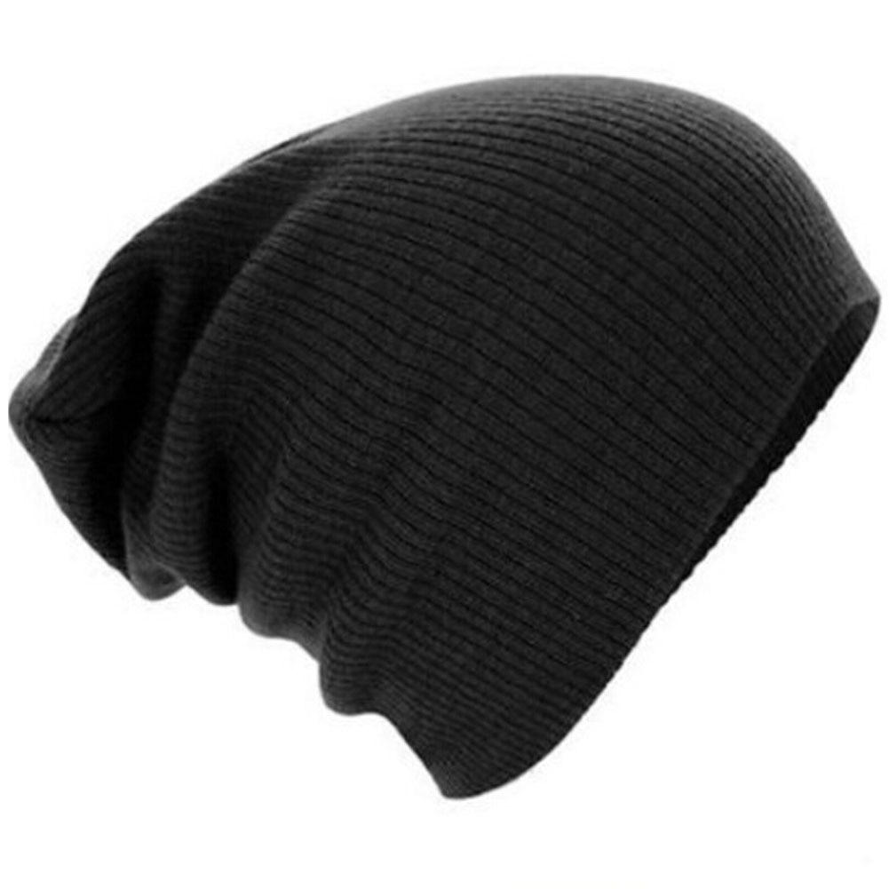 2colors 2017 Winter Beanies Solid Color Hat Unisex Plain Warm Soft Beanie Skull Knit Cap Hats Knitted Gorro Caps For Men Women  цены