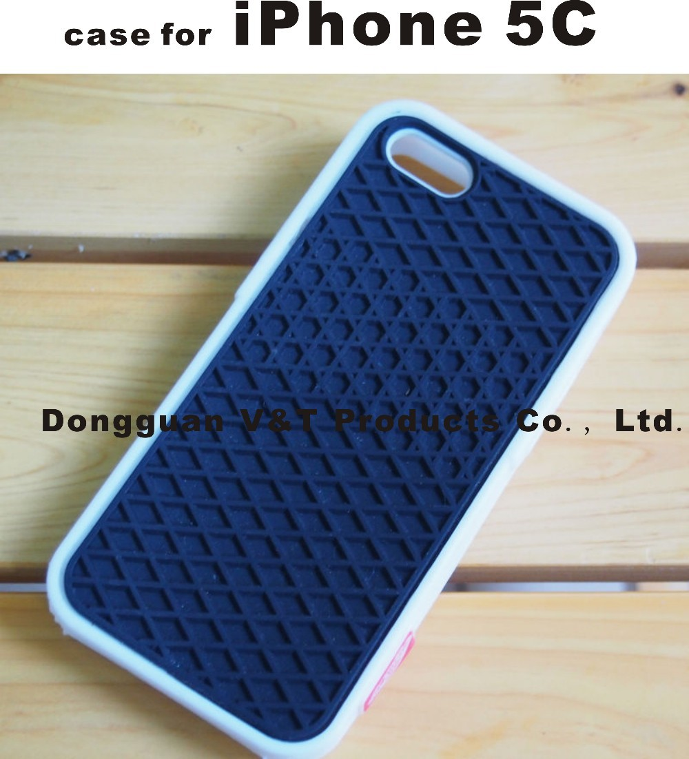 Waffle case for iphone5c, Van Sole Shoe Grid Silicone Soft case ...
