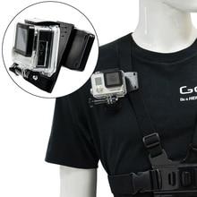 360 degree rotation Quick Attach bag holder Clip for Gopro hero 5 4/3+ 3 2 sjcam SJ4000 SJ5000 GITUP2 XIAOMI YI 4k Action Camera