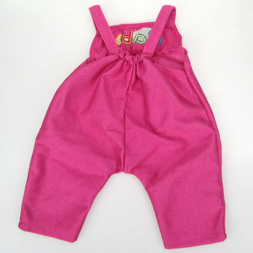 Hot 18-inch American Girl Doll Red Belt Pants And White Shirt For Newborn Baby Toy Accessories (only Selling clothes)
