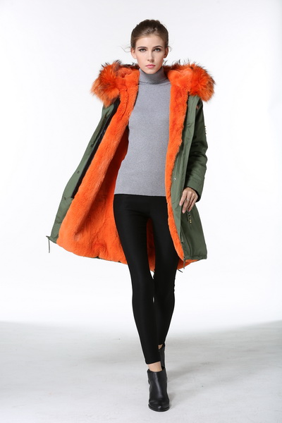 2016 Embroidery Pattern Beading vest Designer jacket exclusive fur coat furs fishtail faux orange fur jackets