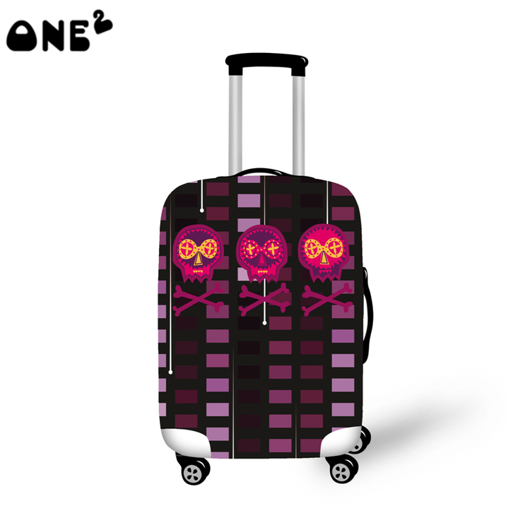 ONE2 Design Fashion travel luggage cover travel bag cover beautiful pictures for suitcase boys good quality