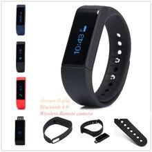 Banda Iwown i5 más inteligente reloj inteligente iwown i5plus Original Pulsera Bluetooth 4.0 Monitor de Sueño Pulsera Mini Activo Perseguidor