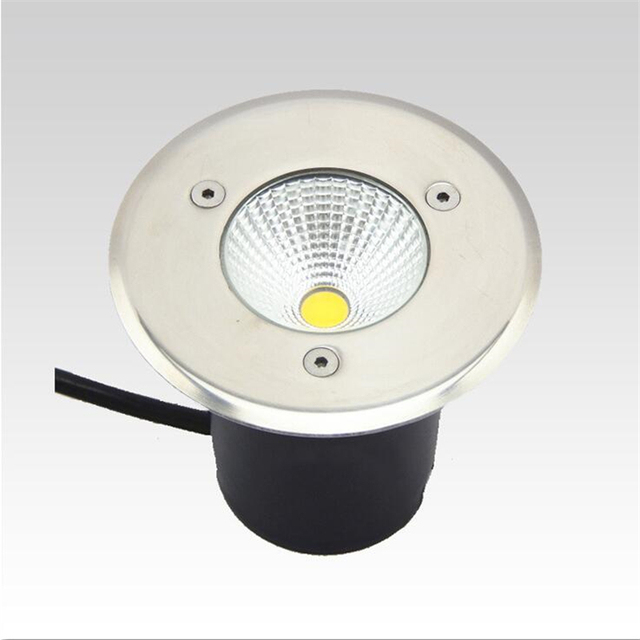 Aliexpress buy ac85 265v 5w cob led buried lights warm white ac85 265v 5w cob led buried lights warm white light underground lamp waterproof indoor outdoor mozeypictures Images
