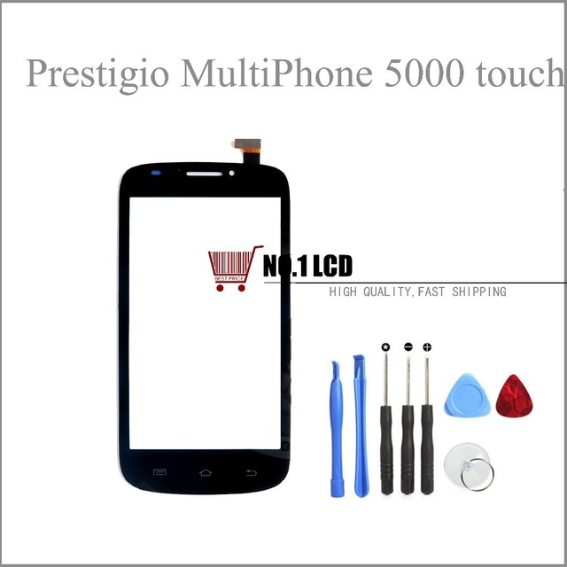 5'' Touch Screen Digitizer Glass For Prestigio MultiPhone 5000 Duo PAP5000 Touch Panel Sensor Replacement Free Shipping