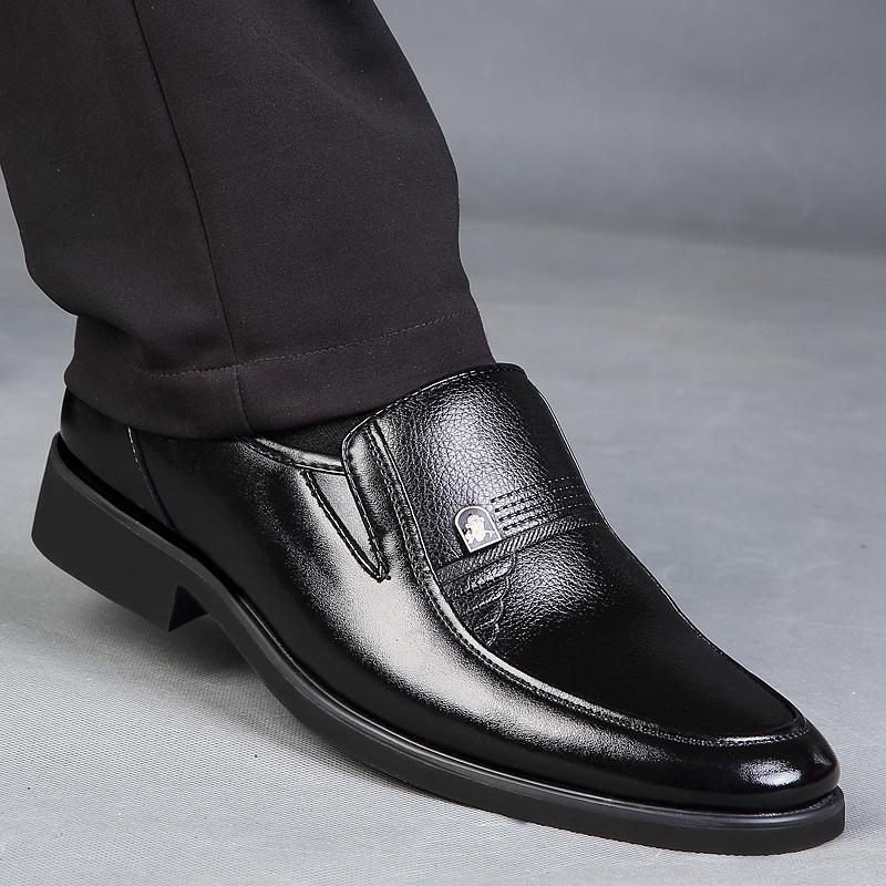 Men Shoes Luxury Brand 2017 Fashion Men Shoes  Vintage genuine Leather Shoes Men Slip Rubber Flats Men Zapatos Hombre от Aliexpress INT