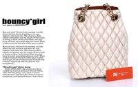 падение / бесплатная доставка SA стиль конструктор обвинение кожа на Rene, женская сумки опт/Rosa продаж
