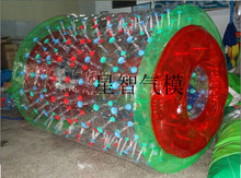 2016 PVC colorful inflatable water walking ball/ water paly equipment water roller ball aqua rolling ball