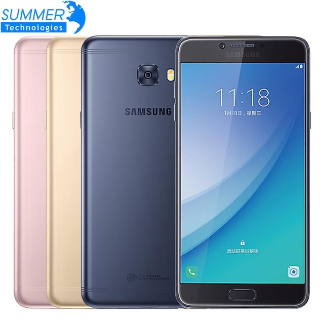 "2017 Original Samsung Galaxy C7 Pro C7010 Mobile Phone Octa Core 4G LTE 4G RAM 64G ROM Dual Sim 5.7"" 3300mAh 16MP Smartphone"