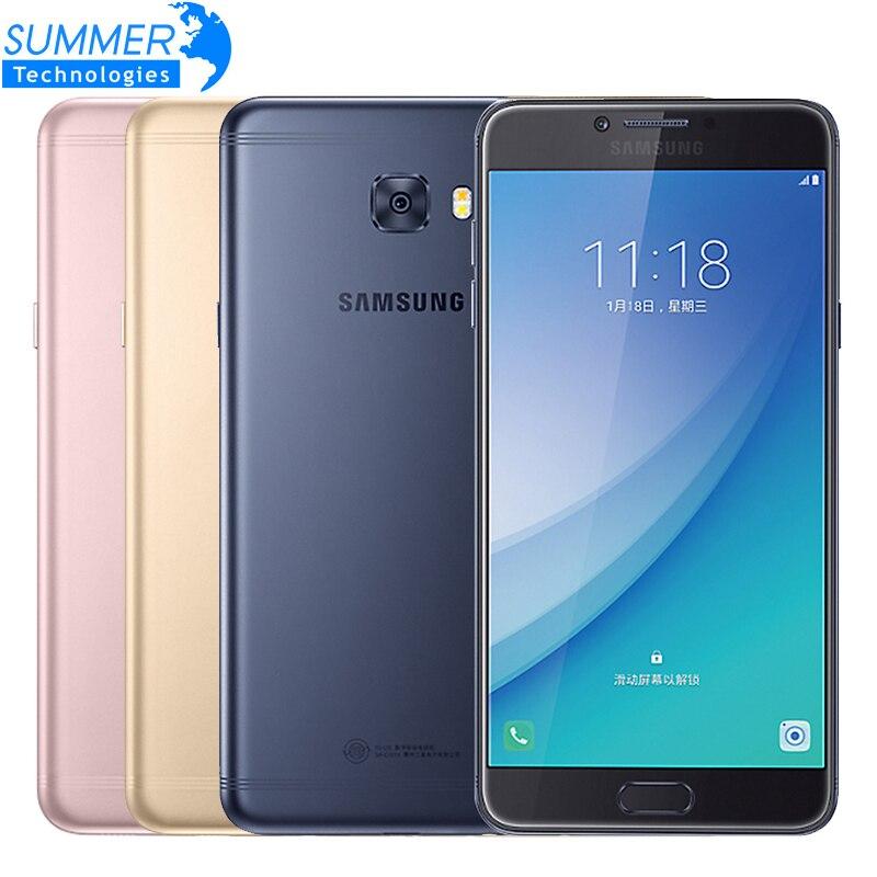 2017 original samsung galaxy c7 pro c7010 octa teléfono móvil Core 4G LTE 4G RAM