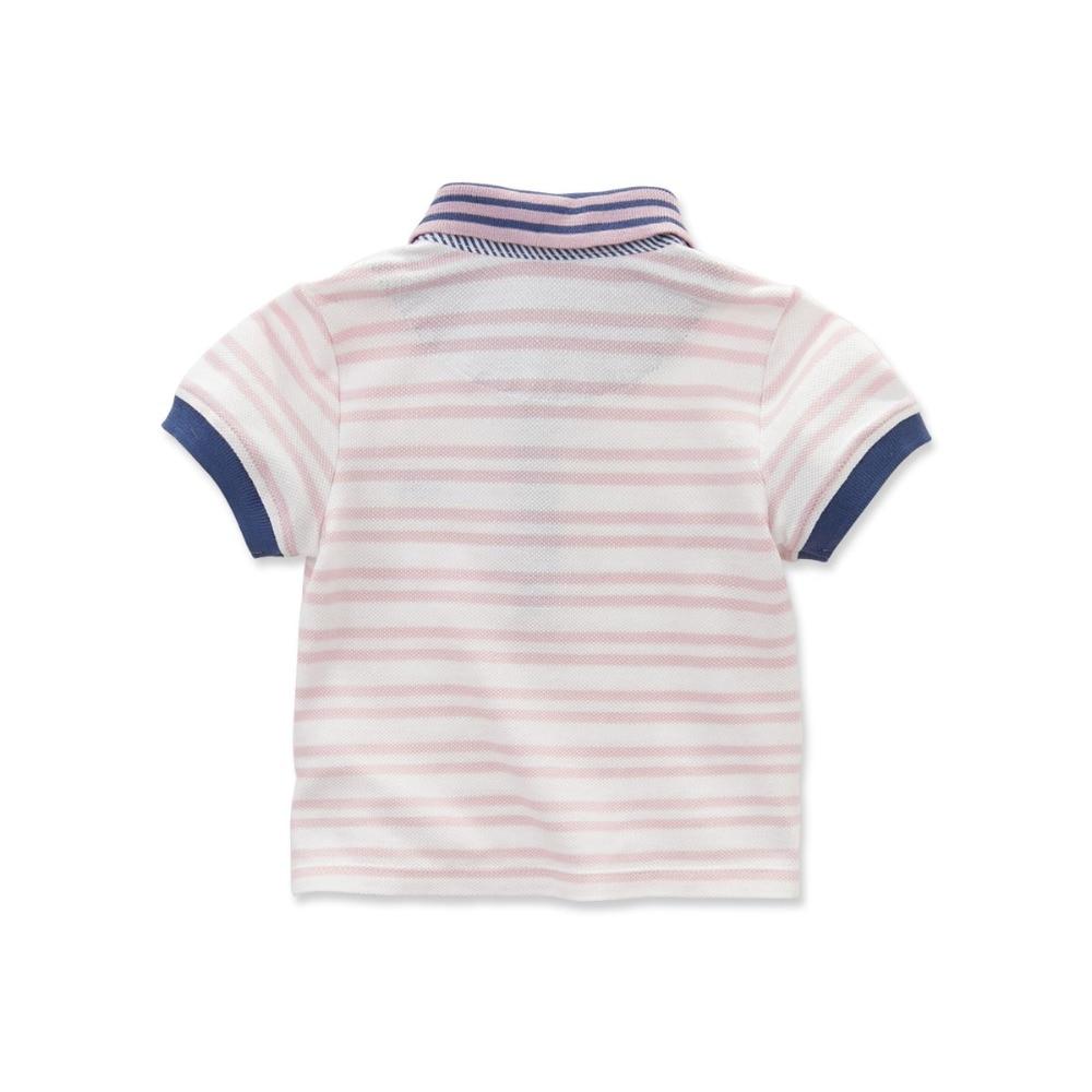 DB3780 dave bella yaz erkek bebek 100 pamuk t gömlek bebek giysileri - Çocuk Giyim - Fotoğraf 2