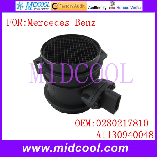 New Air Mass Flow Sensor OE #0280217810 A1130940048 1130940048 0280217811 9004601 10928338 401627 A2C59513979 per Mercedes-Benz