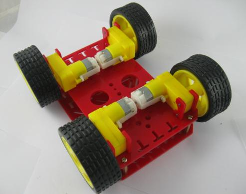 Dagu magic car 4wd robot chassis with 4 TT motor