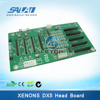 Printer spare parts xenons head board dx5 double head carriage board