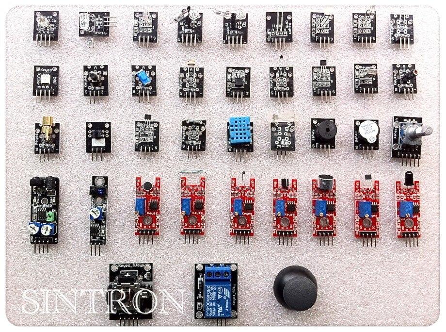 37 99 Sintron Ultimate 37 En 1 Kit De Módulos De Sensor Para Usuario De Educación Arduino Y Mcu In Accesorios Y Piezas De Reemplazo From Productos