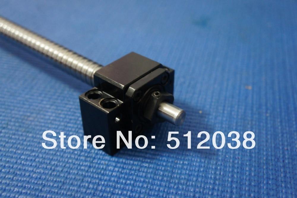 Шариковый винт монтажный комплект: 1 шт. SFU1605-L 550 мм шариковый винт с конечной обработки+ 1 шт. станков+ BK/BF Поддержка+ 2 шт. 6,35*10 мм Муфта