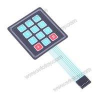 12 ключ мембранный переключатель клавиатура общего пользования