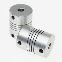 a235a 5 шт. / lot5x8mm двигатель чпу челюсти соединительная привод 5 мм до 8 мм гибкие Казахстана od 19.5 x 24,5 мм