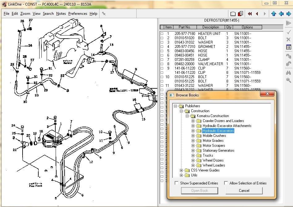 2017 15 13 14 komatsu construction electronic parts catalog for rh aliexpress com
