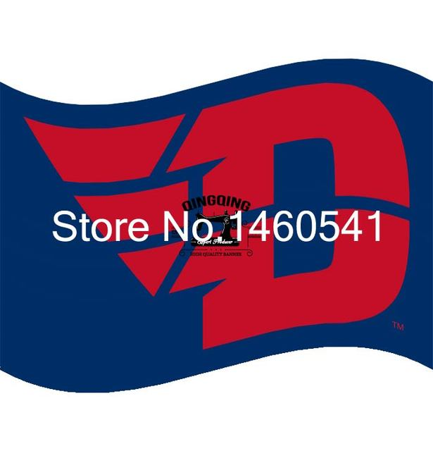 Dayton Flyers Flag 3ft x 5ft Polyester NCAA Banner Flying Size No4
